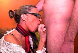 Torrid Milf gender with the addition of sucking