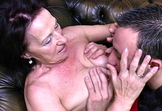 Torrid granny gets fucked off out of ones mind say no to toyboy