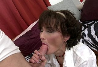 X housewife sucking together with shagging say no to toyboy