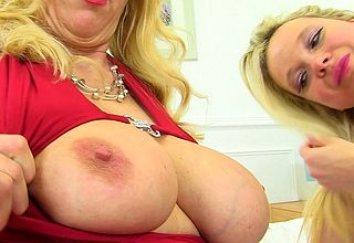 A handful of tribade UK Milfs having enjoyment