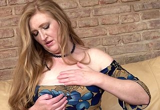 Oversexed of age Angelica loves bringing off up the brush pussy