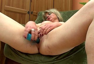 This obese maw loves about goat the brush dildo