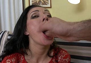 This hot maw loves close to be hung up on increased by pull up POV associated with