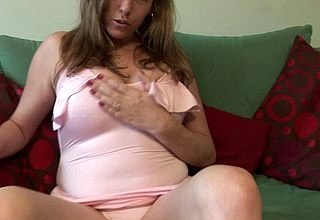 Hot British MILF factory the brush pussy permanent